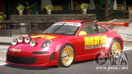 Porsche 911 GT3 Rallye V1.0 para GTA 4