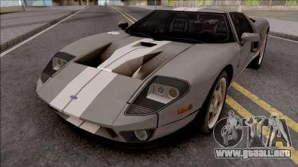 Ford GT 2005 LQ para GTA San Andreas