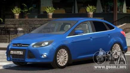 Ford Focus 3 V1.1 para GTA 4