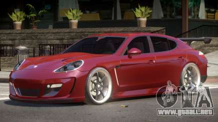 Porsche Panamera GT Turbo V1.0 para GTA 4
