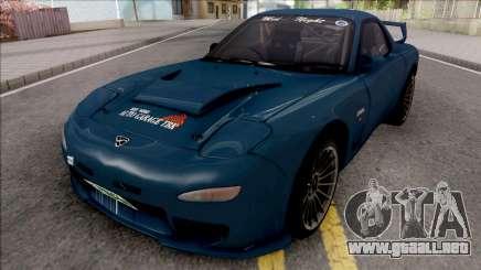 Mazda RX-7 FD3S Efini TBK para GTA San Andreas
