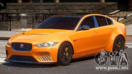 Jaguar XE Sport para GTA 4