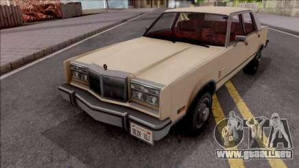 Chrysler New Yorker 1982 para GTA San Andreas