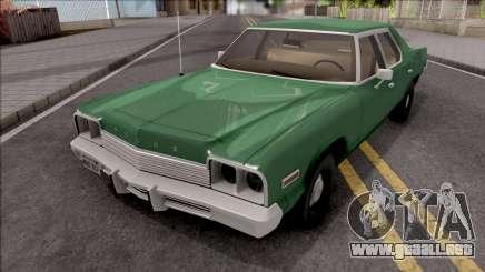 Dodge Monaco 1974 Green para GTA San Andreas