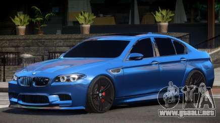 BMW M5 F10 ST para GTA 4