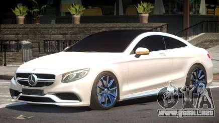 Mercedes Benz S63 V1.1 para GTA 4