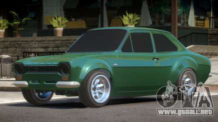 Ford Escort Mk1 V1.0 para GTA 4