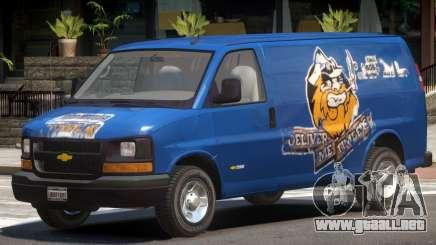 Chevrolet Express PJ4 para GTA 4