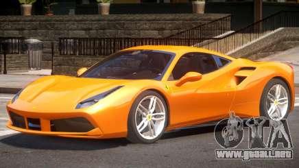 Ferrari 488 Improved para GTA 4