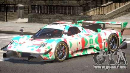 Pagani Zonda GT-R PJ5 para GTA 4
