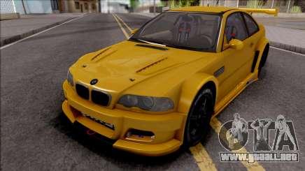 BMW M3 from NFS Shift 2 para GTA San Andreas