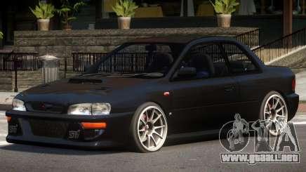 Subaru Impreza Coupe V1.0 para GTA 4