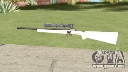 Sniper Rifle (White) para GTA San Andreas