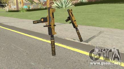 Micro SMG (Luxury Finish) GTA V Suppressor V2 para GTA San Andreas