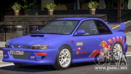 Subaru Impreza STI RS P1 para GTA 4