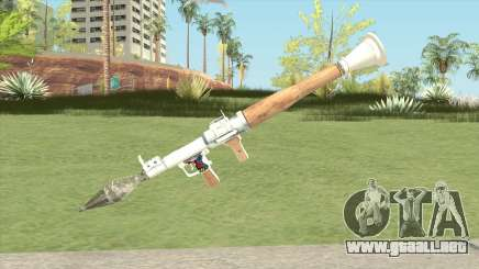 Rocket Launcher (White) para GTA San Andreas