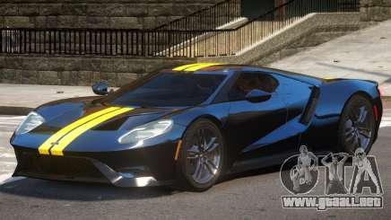 Ford GT Black Edition para GTA 4
