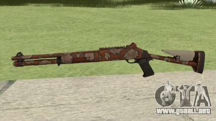 XM1014 Snakeskin Red (CS:GO) para GTA San Andreas