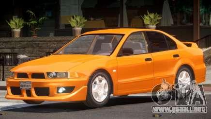 Mitsubishi Galant ST para GTA 4