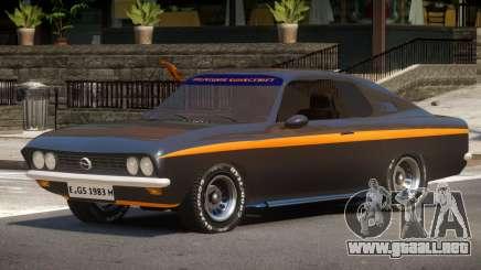 Opel Manta V1.0 para GTA 4