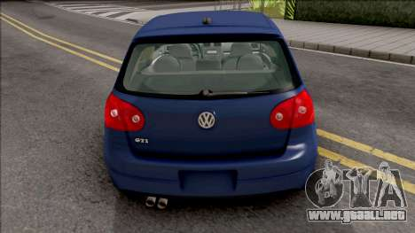 Volkswagen Golf Mk5 Low para GTA San Andreas