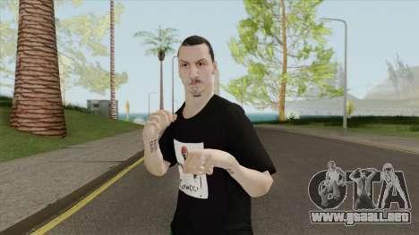 Zlatan Ibrahimovic para GTA San Andreas