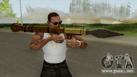 Rocket Launcher GTA V (Gold) para GTA San Andreas