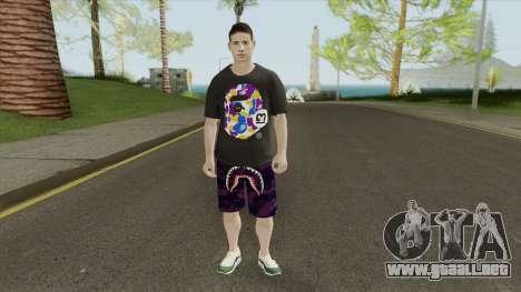 James Rodriguez para GTA San Andreas