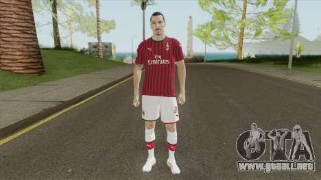Zlatan Ibrahimovic (PES 2020) para GTA San Andreas