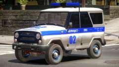 UAZ 315195 Police para GTA 4