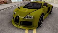 Bugatti Veyron 3B 16.4 para GTA San Andreas
