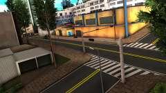 RUMANO CUARTEL general de CARRETERAS por Stringer para GTA San Andreas