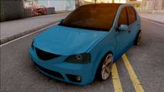 Dacia Logan Tuning Blue
