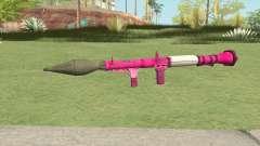 Rocket Launcher GTA V (Pink) para GTA San Andreas