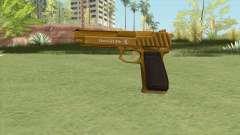 Pistol .50 GTA V (Gold) Base V1