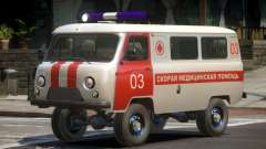UAZ 39629 Ambulance para GTA 4