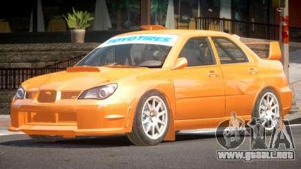 Subaru Impreza WRX GTI para GTA 4