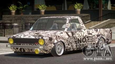 Volkswagen Caddy PJ1 para GTA 4