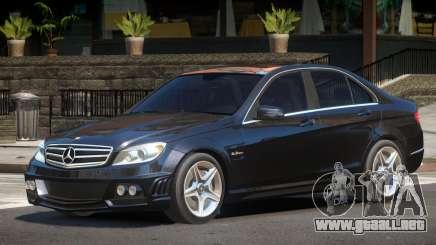 Mercedes C63 ST para GTA 4