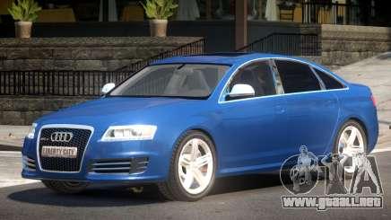 Audi RS6 V1.2 para GTA 4