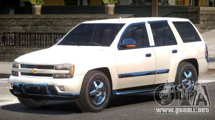 Chevrolet TrailBlazer V1.1 para GTA 4