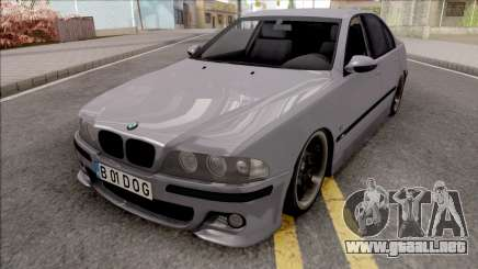 BMW M5 E39 Romanian Plate para GTA San Andreas