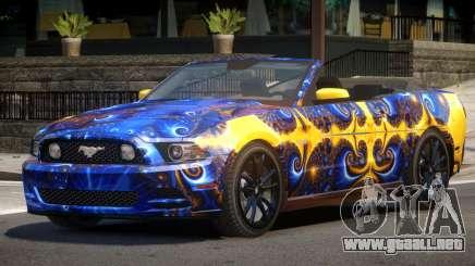 Ford Mustang GT Cabrio PJ3 para GTA 4