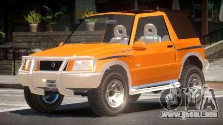 Suzuki Vitara Custom para GTA 4