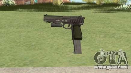 Pistol .50 GTA V (Green) Flashlight V2 para GTA San Andreas