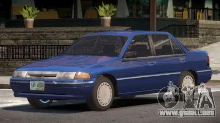 1993 Mercury Tracer V1.0 para GTA 4