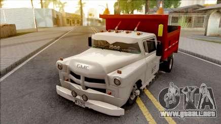 Chevrolet 3100 De Volteo para GTA San Andreas