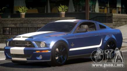 Shelby GT500 SS para GTA 4