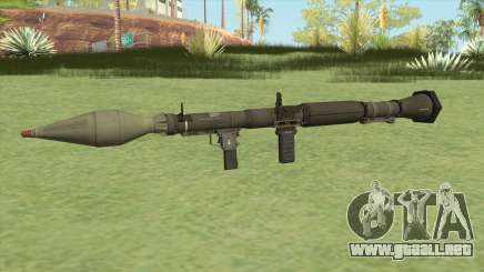 Rocket Launcher GTA V (Green) para GTA San Andreas