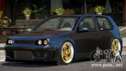 Volkswagen Golf Edit para GTA 4